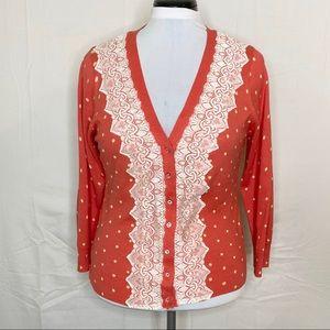Charlotte Tarantola Cardigan Sweater - XL